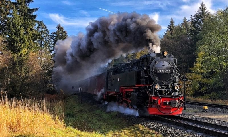 Brocken Steam Train