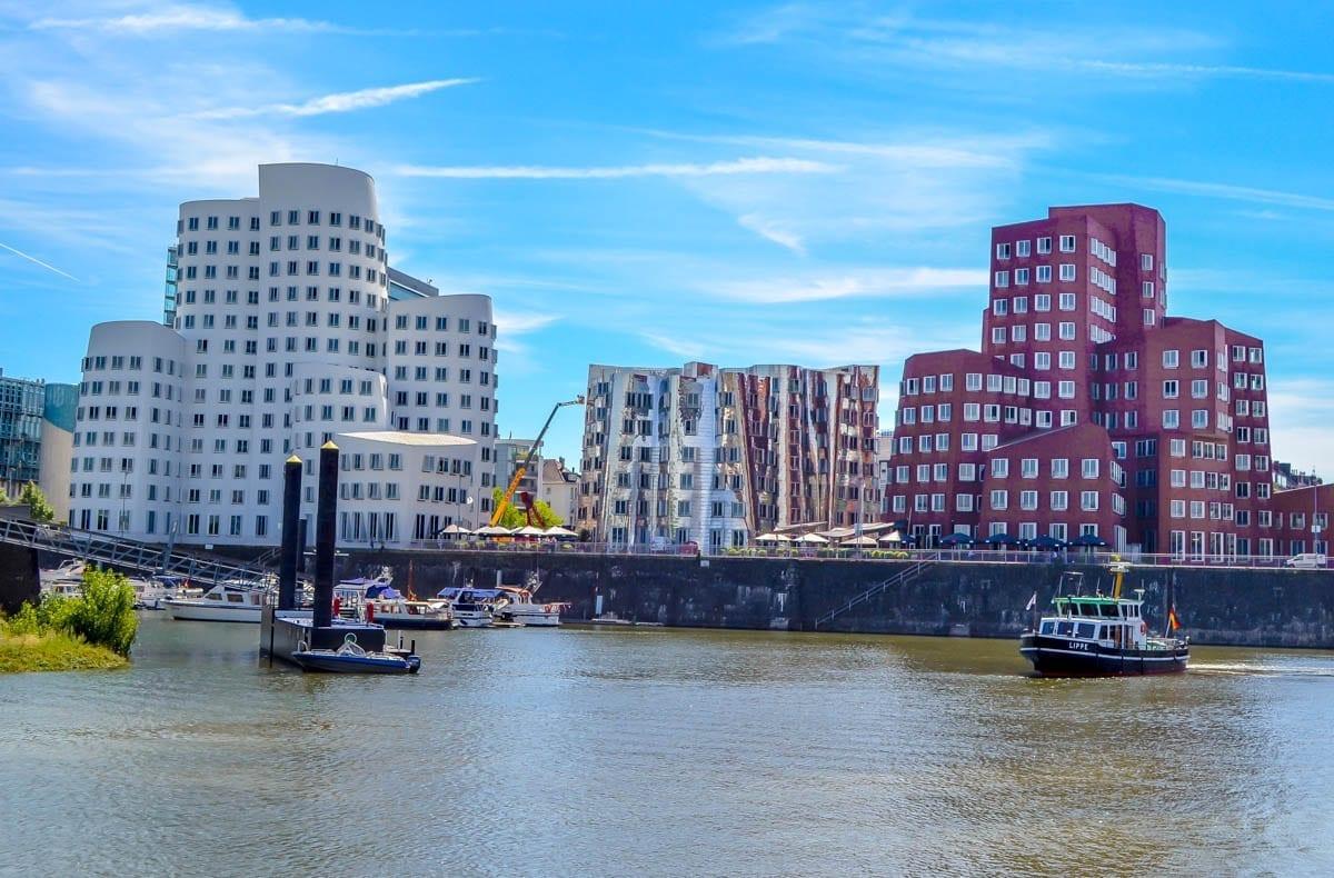 Rhine River in Dusseldorf