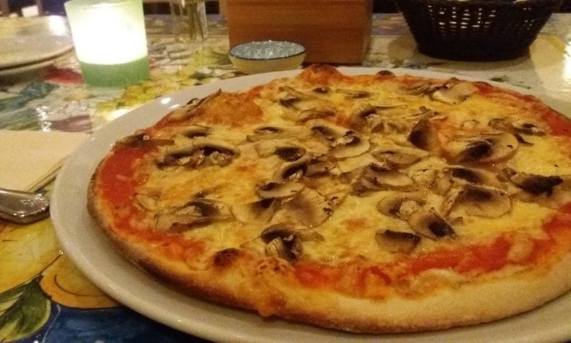 Pizza in Dusseldorf