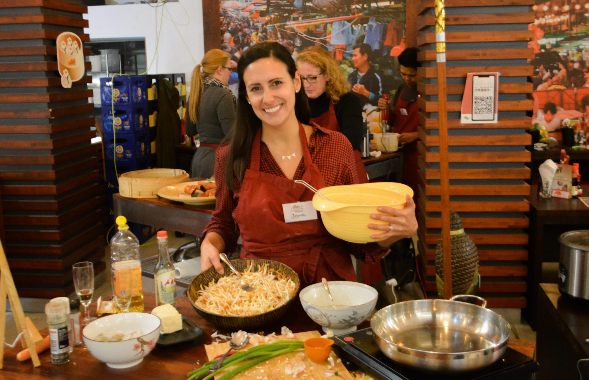 Maite's Delicious [English Speaking] Asian Cooking Classes & Gourmet Walks