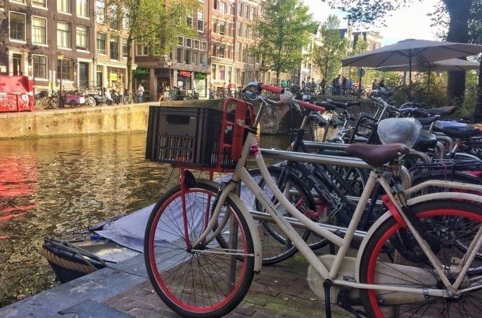 Cycling to Brussels