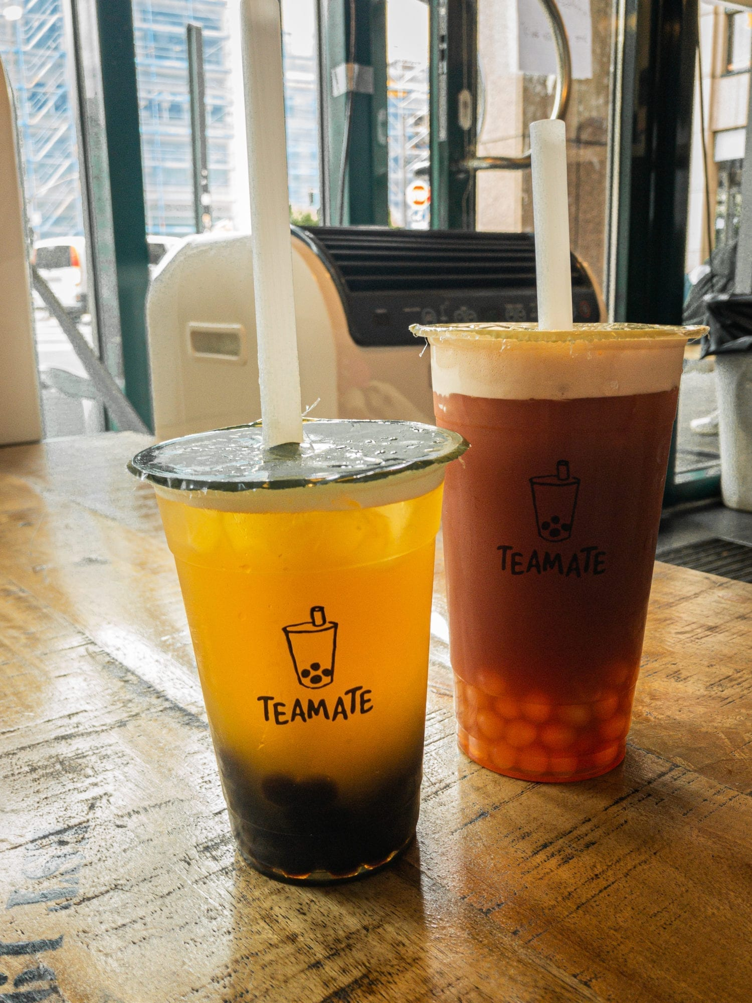 Boba Tea at Teamate