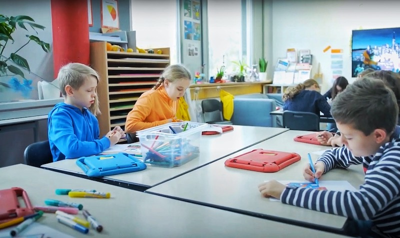 Let Students Take You on a Virtual Tour Around the International School of Düsseldorf