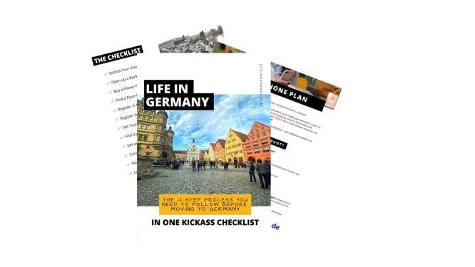 Life in Germany Checklist Visual